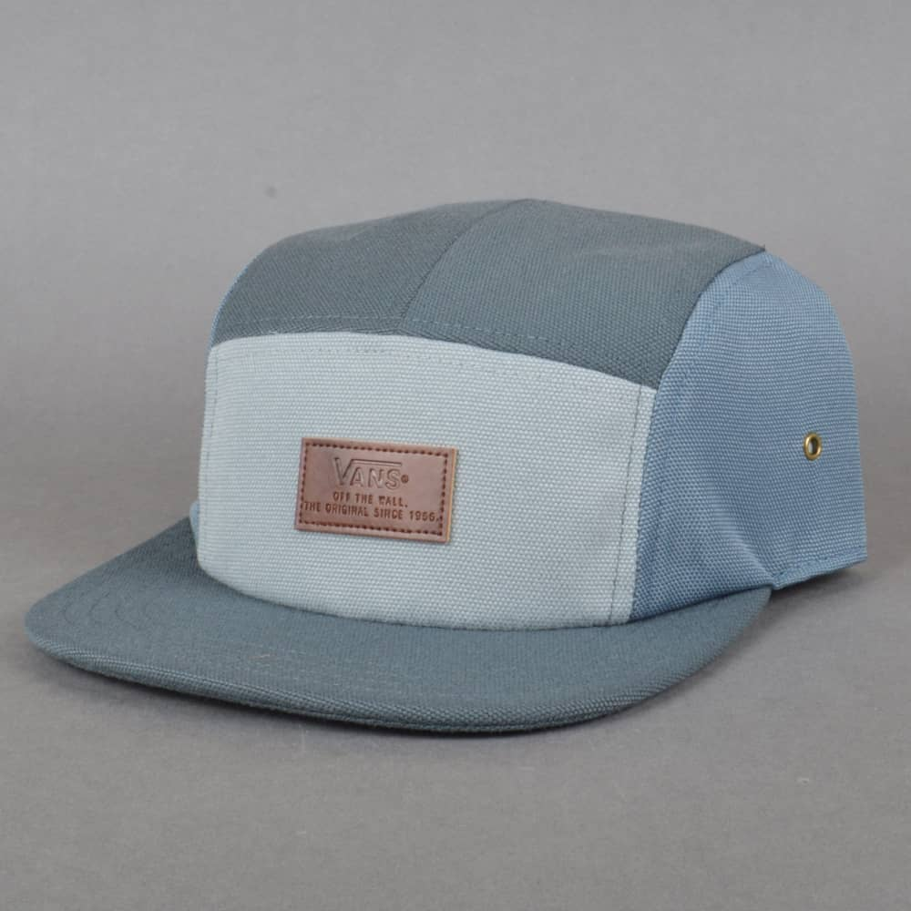 Vans Davis 5 Panel Camper Hat - Dark Slate - SKATE CLOTHING from ... 8e30dd47681