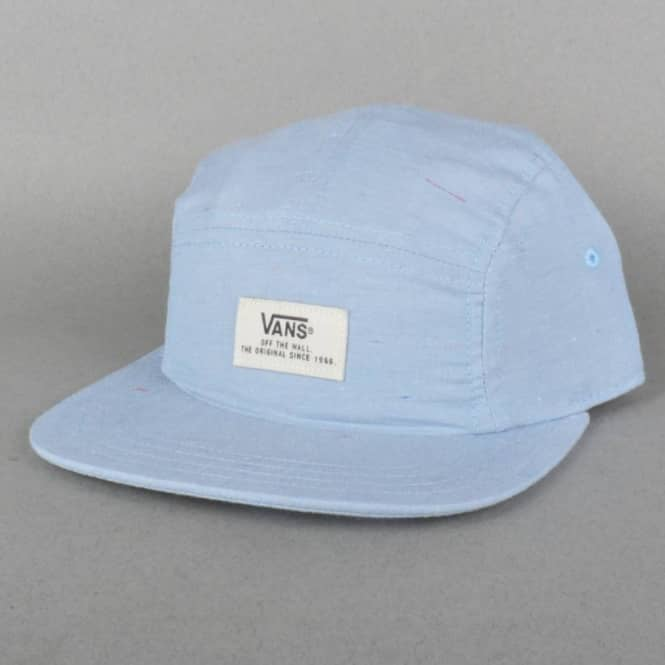 Vans Davis 5 Panel Cap - Federal Blue - Caps from Native Skate Store UK c780ed47331
