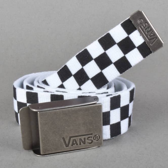 c6225f0a88a Vans Deppster Web Belt - Black White - SKATE CLOTHING from Native ...