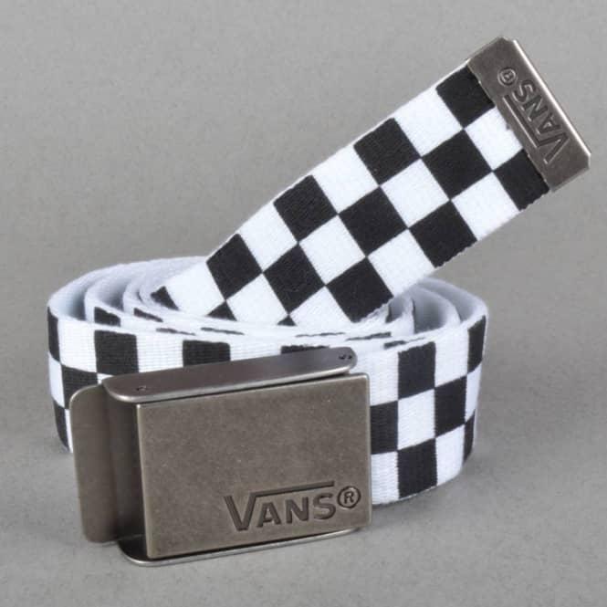 672d98a13d Vans Deppster Web Belt - Black White - SKATE CLOTHING from Native ...