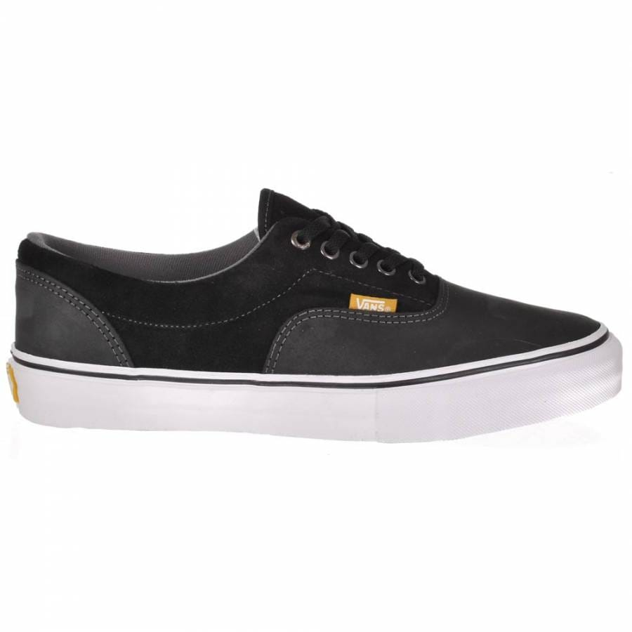 vans vans era pro black pewter dura suede skate shoes