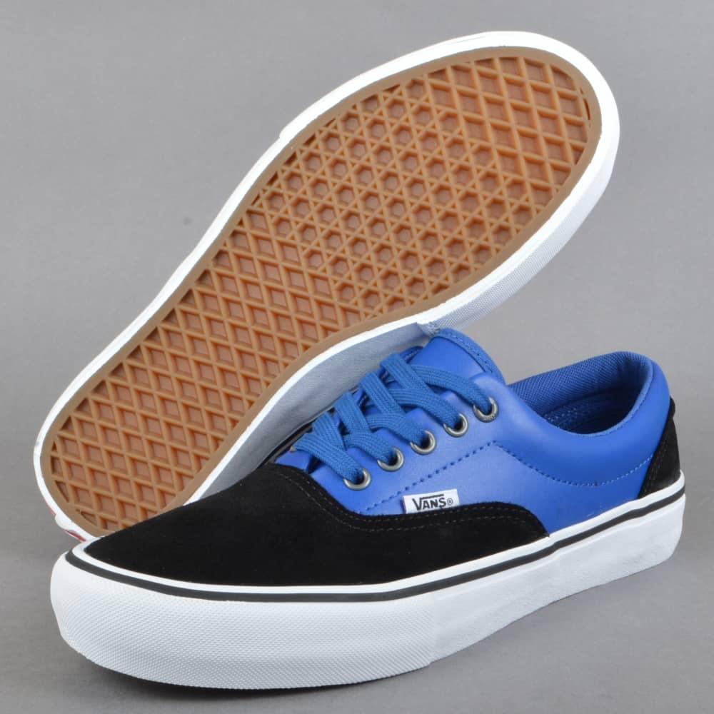 Vans Era Pro (Real Skateboards) Skate Shoe - Black True Blue - SKATE ... b96d921457a6