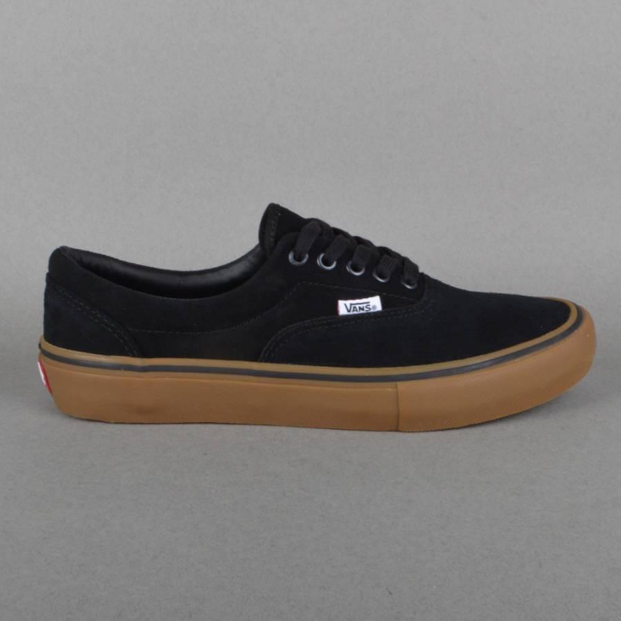 vans era pro skate shoes black gum vans from native. Black Bedroom Furniture Sets. Home Design Ideas