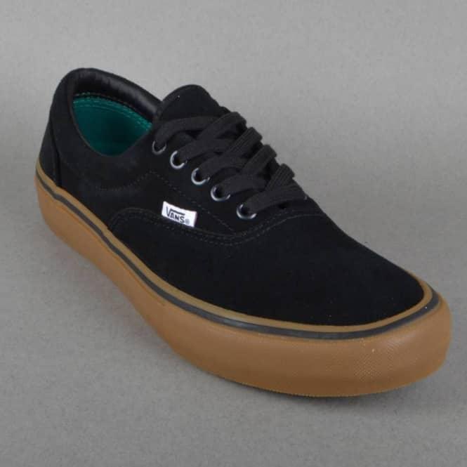 0d446c96f61b Vans Era Pro Skate Shoes - Black Gum - SKATE SHOES from Native Skate ...