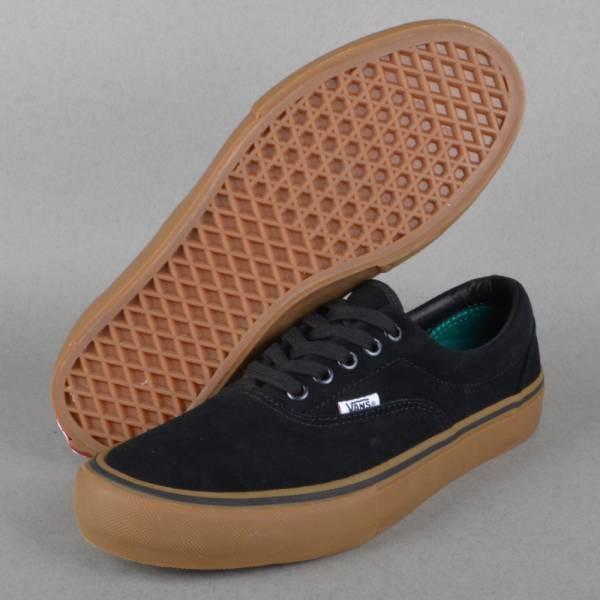 22ad625b4cd Vans Era Pro Skate Shoes - Black Gum - SKATE SHOES from Native Skate ...