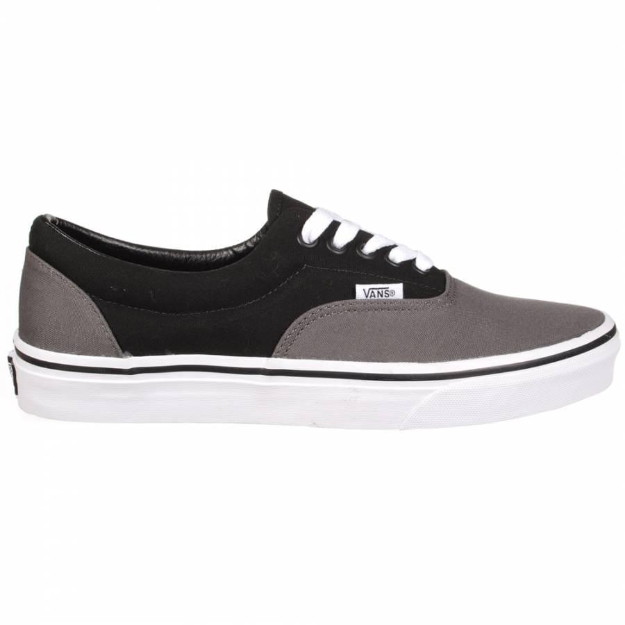 vans vans era skate shoes pewter black vans from