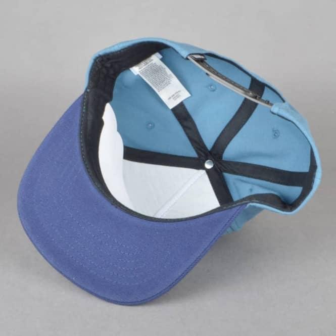 ae4f0716aa Vans Full Patch Snapback Cap - Blue Ash Dress Blue - SKATE CLOTHING ...