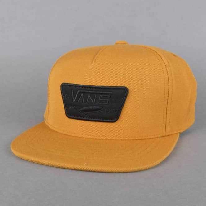 Vans Full Patch Snapback Cap - Buck Brown - SKATE CLOTHING from ... 3cbb8c29a56