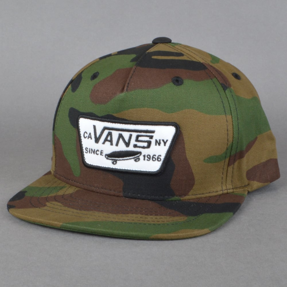 6a2125f1 Vans Full Patch Snapback Cap - Classic Camo - SKATE CLOTHING from ...