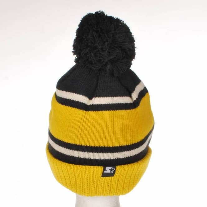 0fa80a4d40b Vans Full Patch Starter Bobble Beanie Yellow - Beanies from Native ...