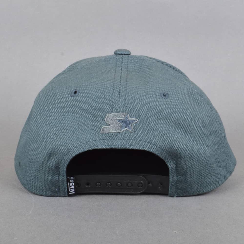 Vans Full Patch Starter Snapback Cap - Dark Slate - SKATE CLOTHING ... d7c47338dd4