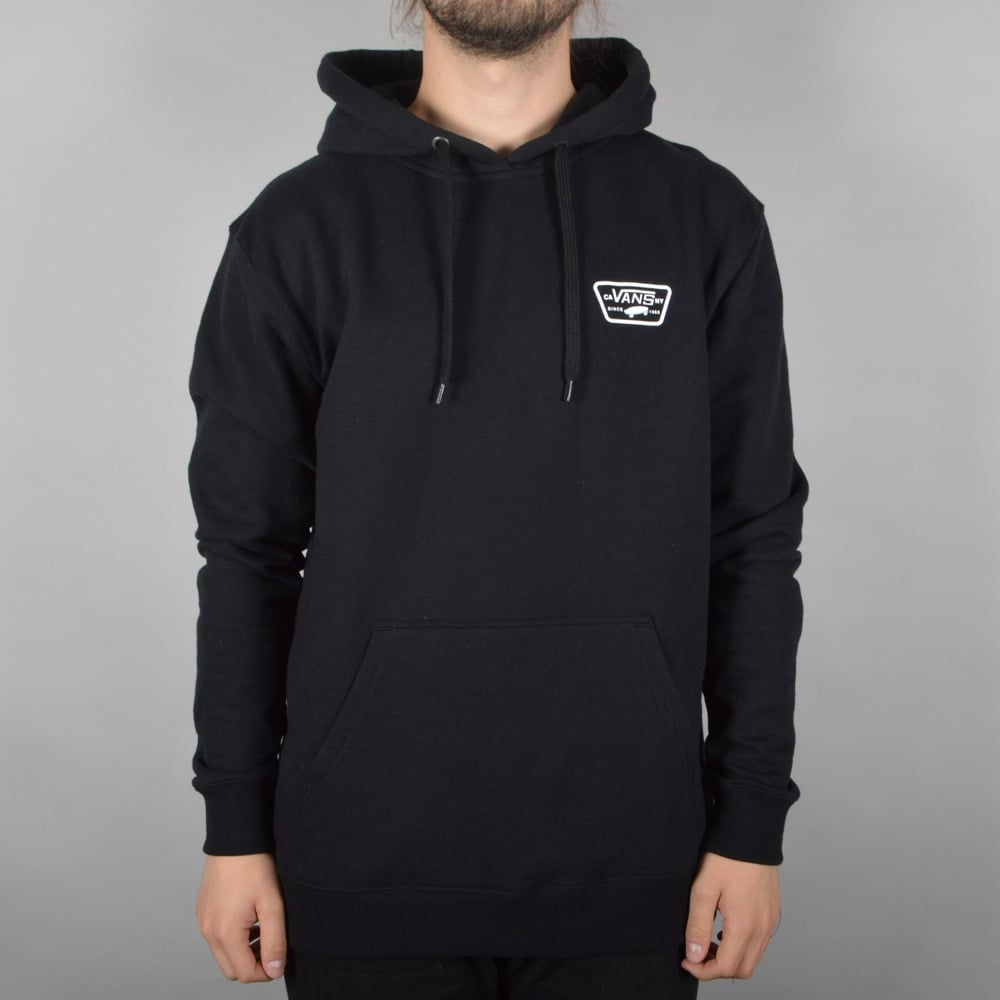 9f58382453 Vans Full Patched Pullover Hood - Black - SKATE CLOTHING from Native ...