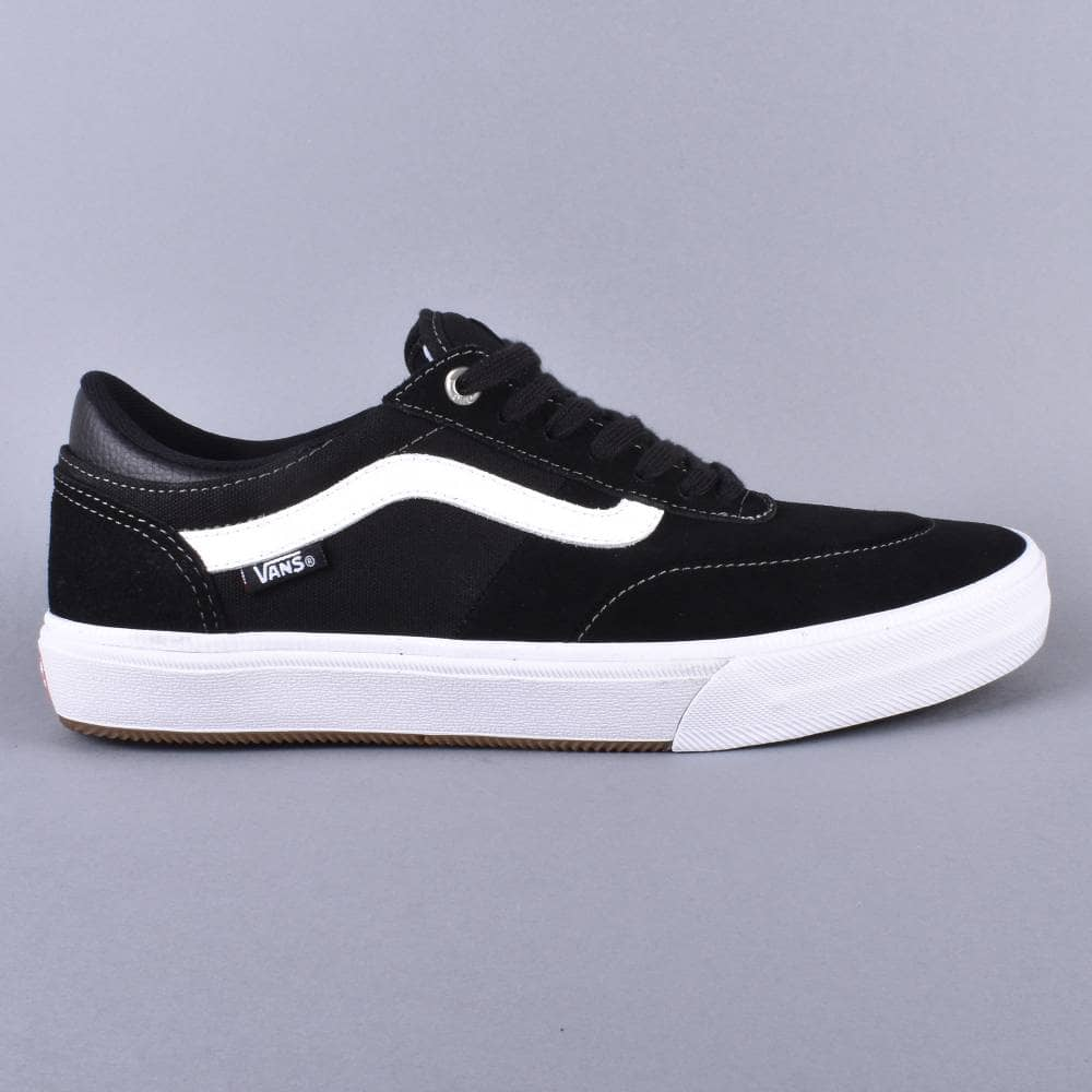c8a4bbe7d180 Vans Gilbert Crockett Pro (2) Skate Shoes - Black White - SKATE ...