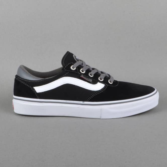 Vans Gilbert Crockett Pro Skate Shoes - Black/Pewter