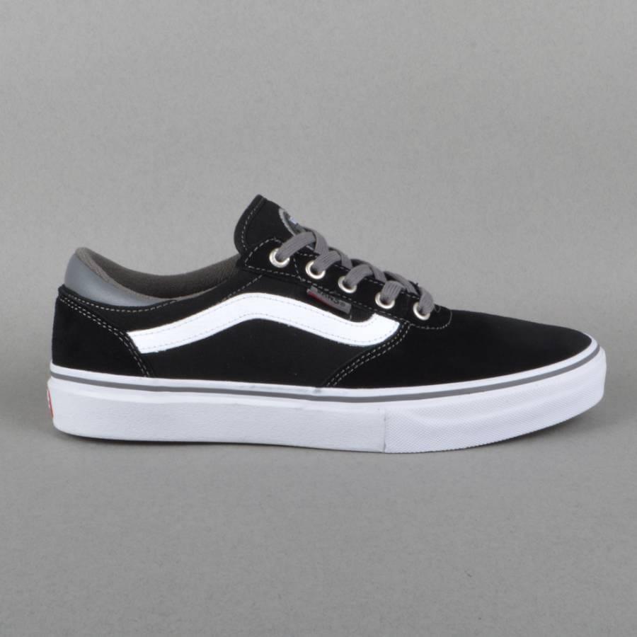 Vans Gilbert Crockett Pro Skate Shoes - Black/Pewter ...