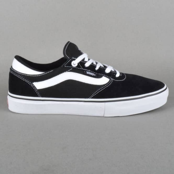 Vans Gilbert Crockett Pro Skate Shoes - Black/White
