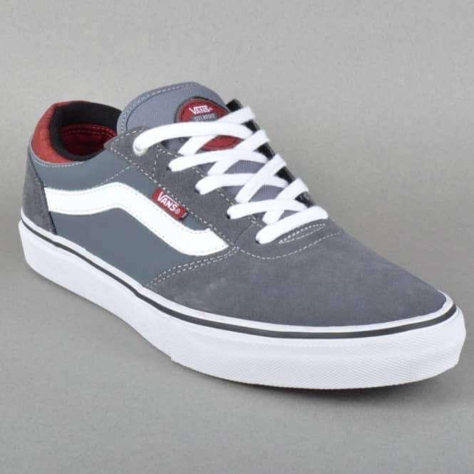 2b76cab616 Vans Gilbert Crockett Pro Skate Shoes - (Cork) Dark Grey - Mens ...