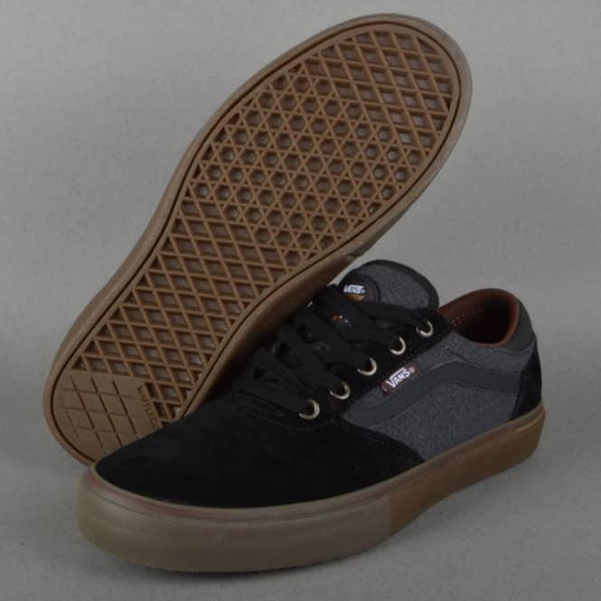 06ba8342ad Vans Gilbert Crockett Pro Skate Shoes - (Covert Twill) Black - SKATE ...