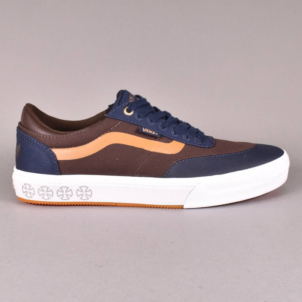 Vans Gilbert Crockett Pro Skate Shoes - (Independent) Dress Blues ... 95b9dd7c0