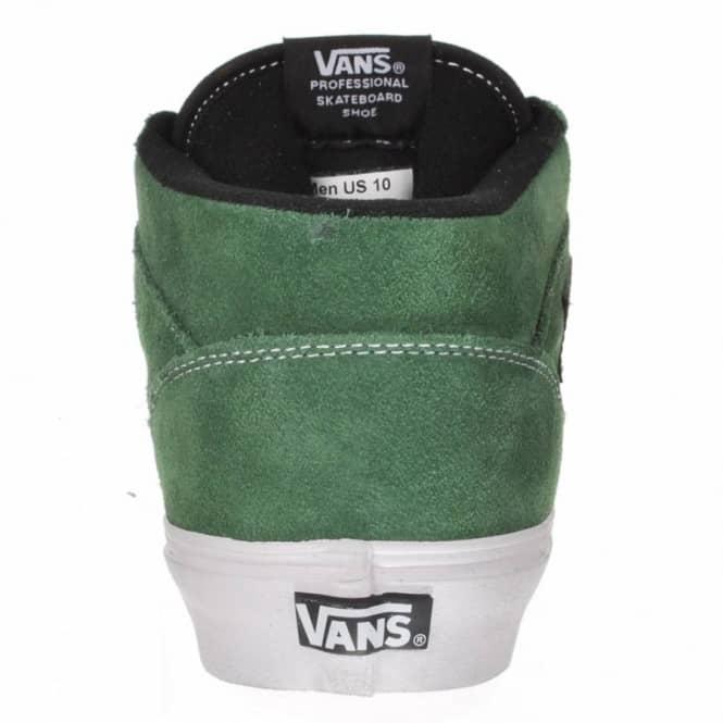 2c2d536178 Vans Half Cab 20th Anniversary Forest Green Skate Shoes - Mens Skate ...