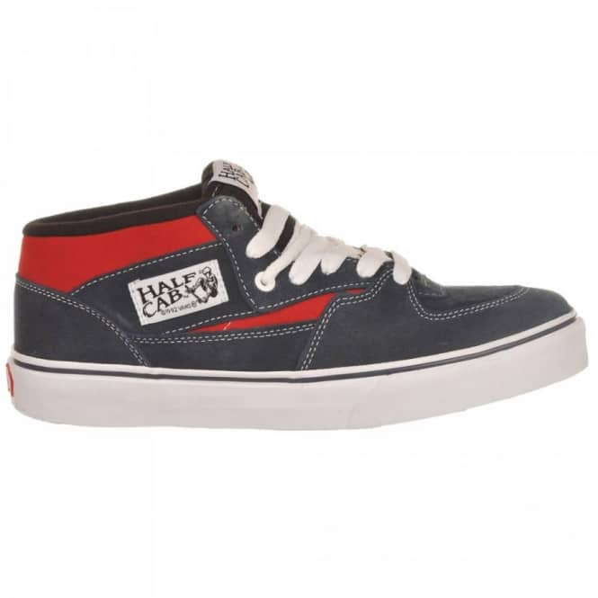 e7ac213cc2b011 Vans Half Cab Navy Red - Mens Skate Shoes from Native Skate Store UK