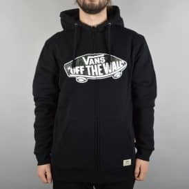 Vans Hessle Fleece Lined Zip Hoodie - Black/Indigo