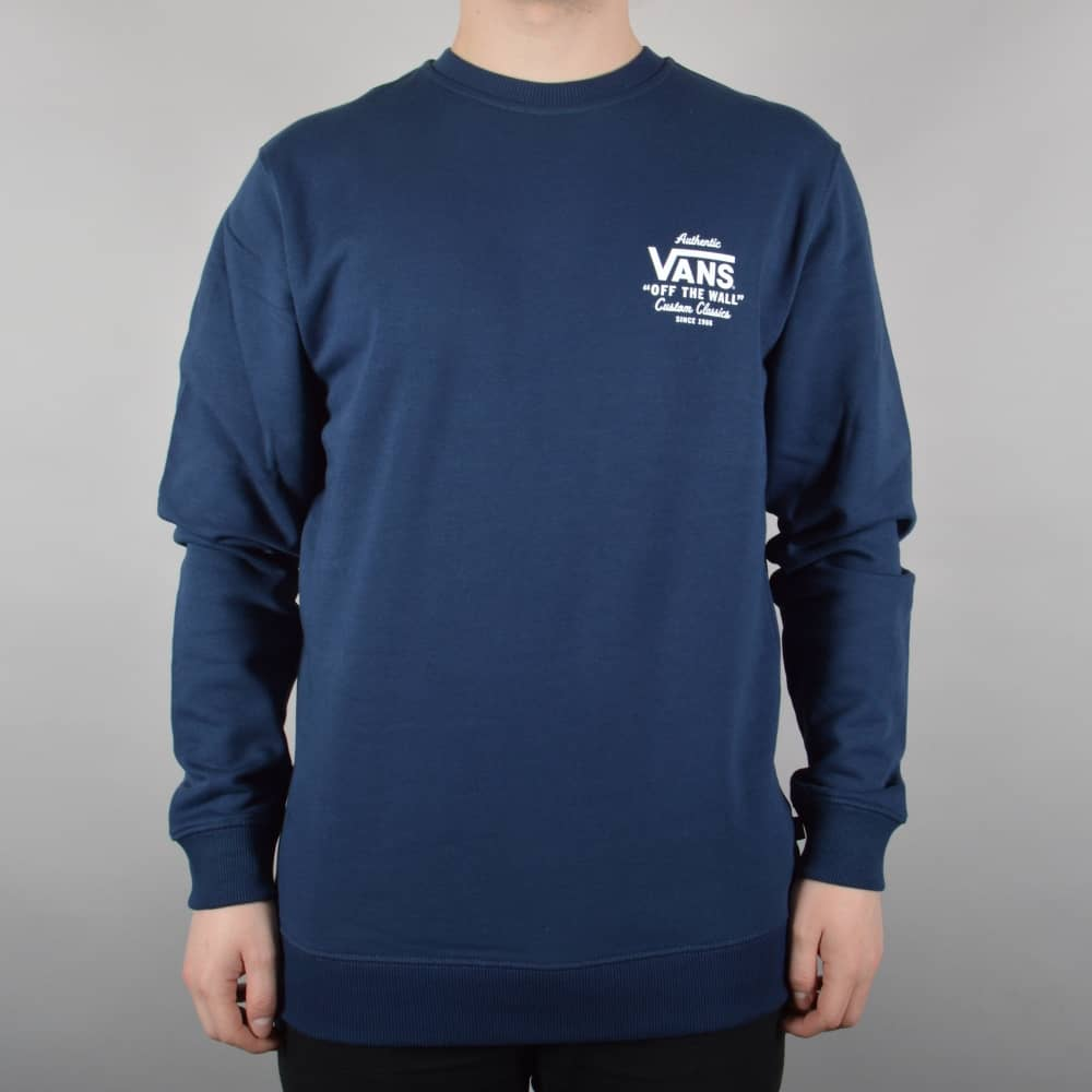 ea88d63673 Vans Holder Street Crew - Dress Blue - SKATE CLOTHING from Native ...