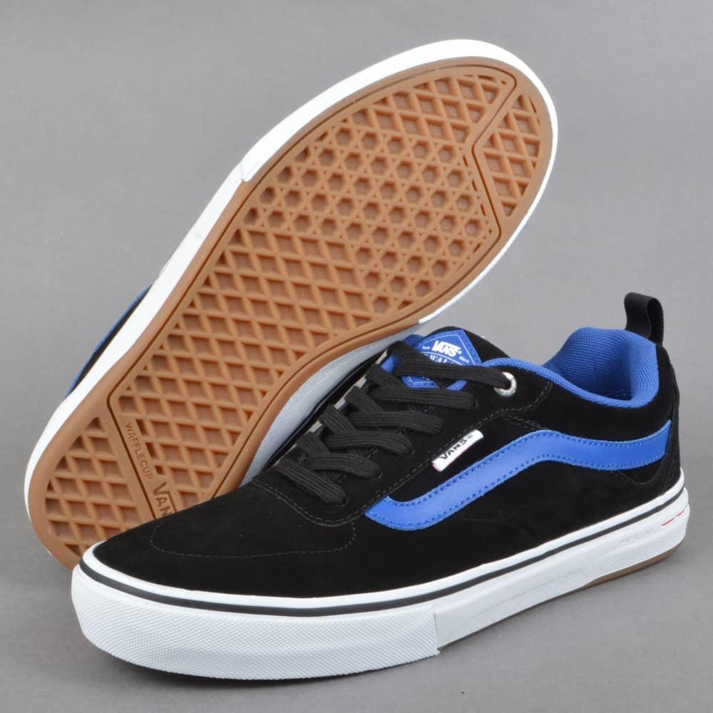 26ba474fba2 Vans Kyle Walker Pro (Real Skateboards) Skate Shoes - Black Teal ...