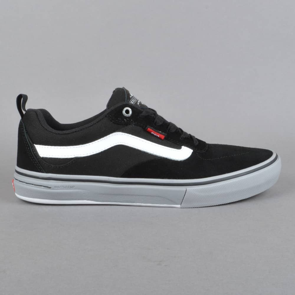 Kyle Walker Pro Skate Shoes - Black/Frost Gray/White