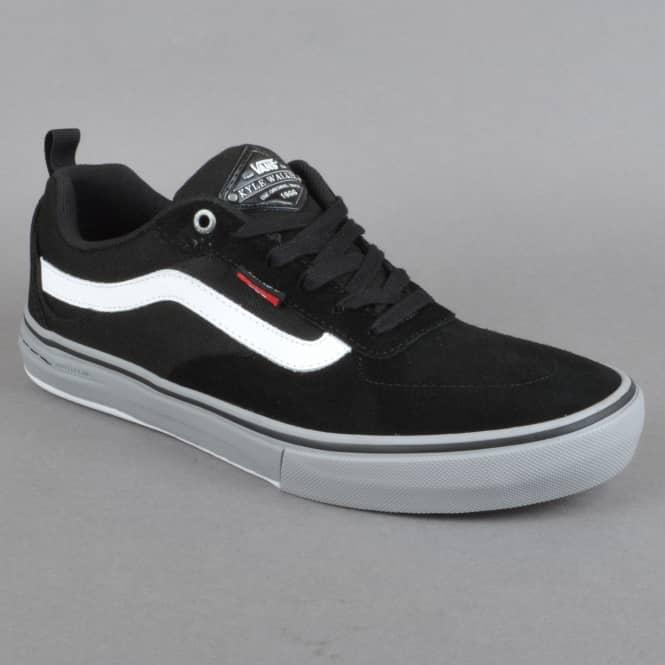 d9824ac2750 Vans Kyle Walker Pro Skate Shoes - Black Frost Gray White - SKATE ...