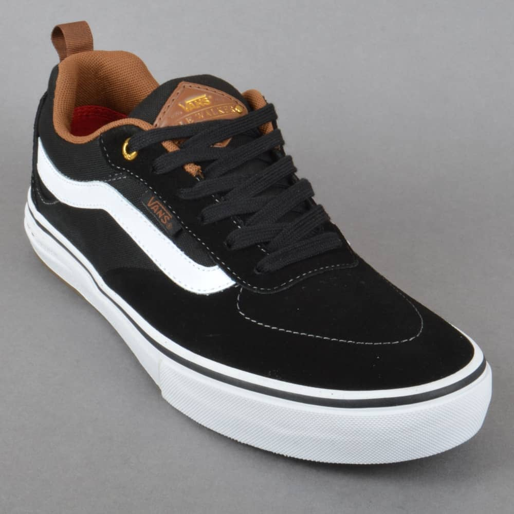 Vans Kyle Walker Pro Skate Shoes - Black White Gum - SKATE SHOES ... 52fee0f0f