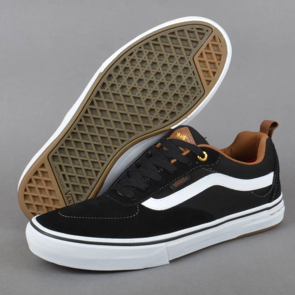 dfbd2731dd Vans Kyle Walker Pro Skate Shoes - Black White Gum - SKATE SHOES ...