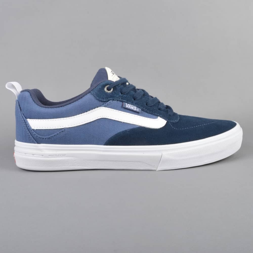 104128c8b057 Vans Kyle Walker Pro Skate Shoes - Dress Blue Vintage Indigo - SKATE ...