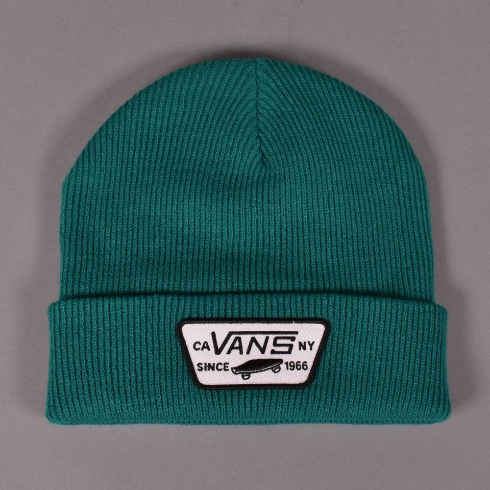ac9176c69c0 Vans Milford Beanie - Quetzal - SKATE CLOTHING from Native Skate ...