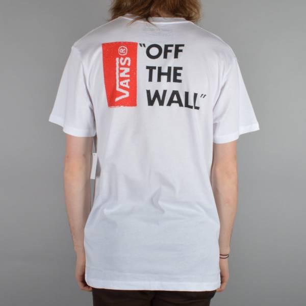 Off The Wall II Skate T-Shirt - White