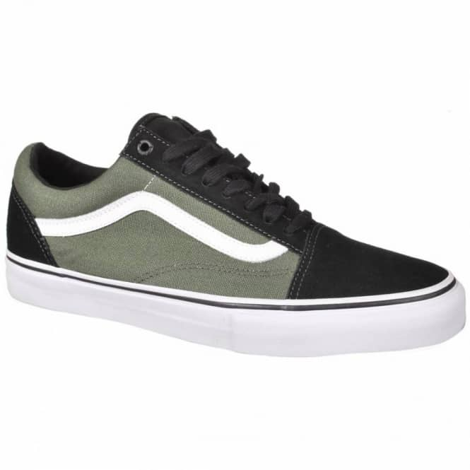 54121463d99 Vans Old Skool 92 Pro Elijah Berle Skate Shoes - Black Olive - Mens ...