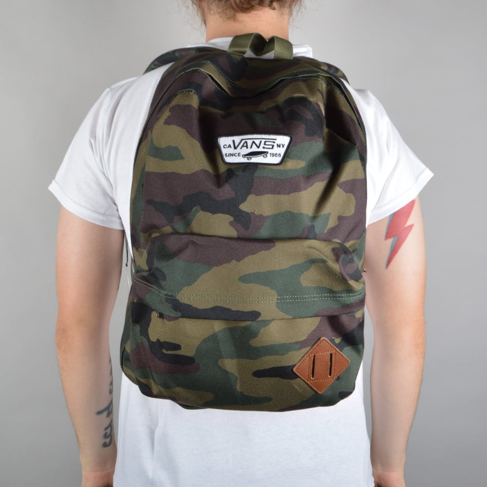6f3b63fffd9 Vans Old Skool II Backpack - Classic Camo - ACCESSORIES from Native ...