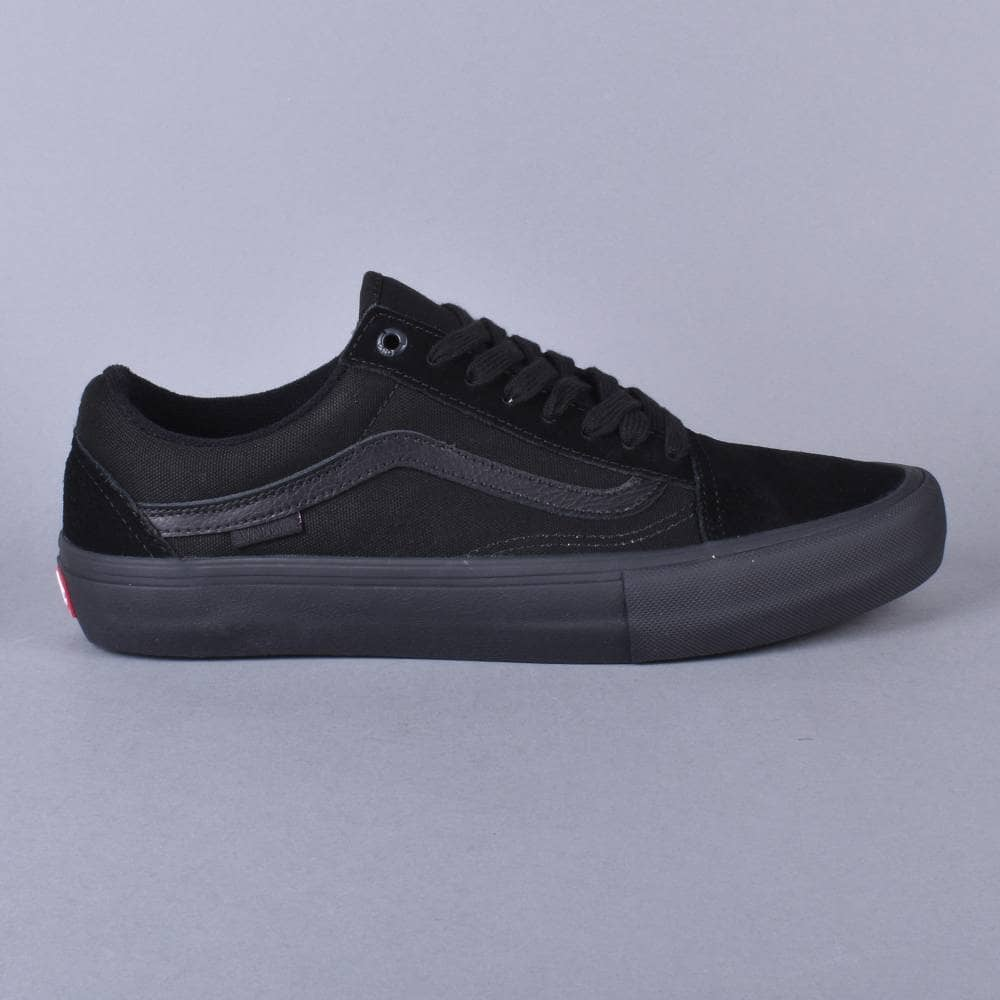 a966799a9d1 Vans Old Skool Pro Skate Shoes - Blackout - SKATE SHOES from Native ...