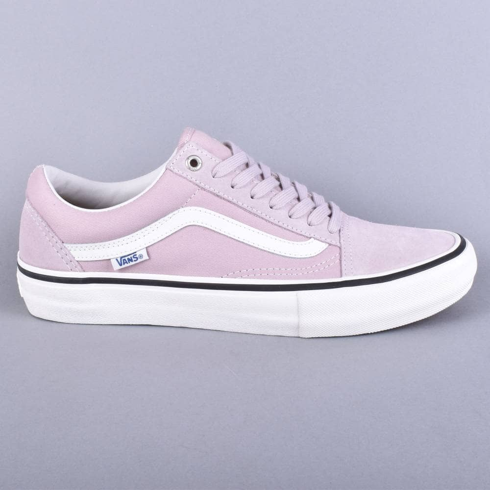 e56b9f0a8aa Vans Old Skool Pro Skate Shoes - (Retro) Violet Ice - SKATE SHOES ...