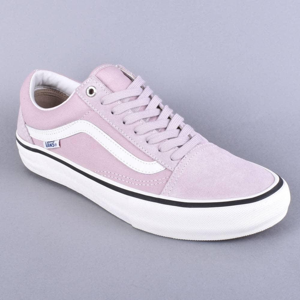 3f743c5f345 Vans Old Skool Pro Skate Shoes - (Retro) Violet Ice - SKATE SHOES ...