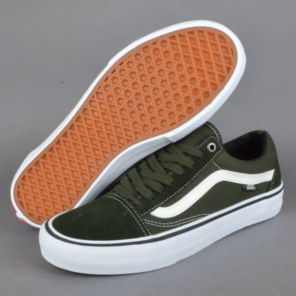 Vans Old Skool Pro Skate Shoes - Rosin White - SKATE SHOES from ... 048fa821e0