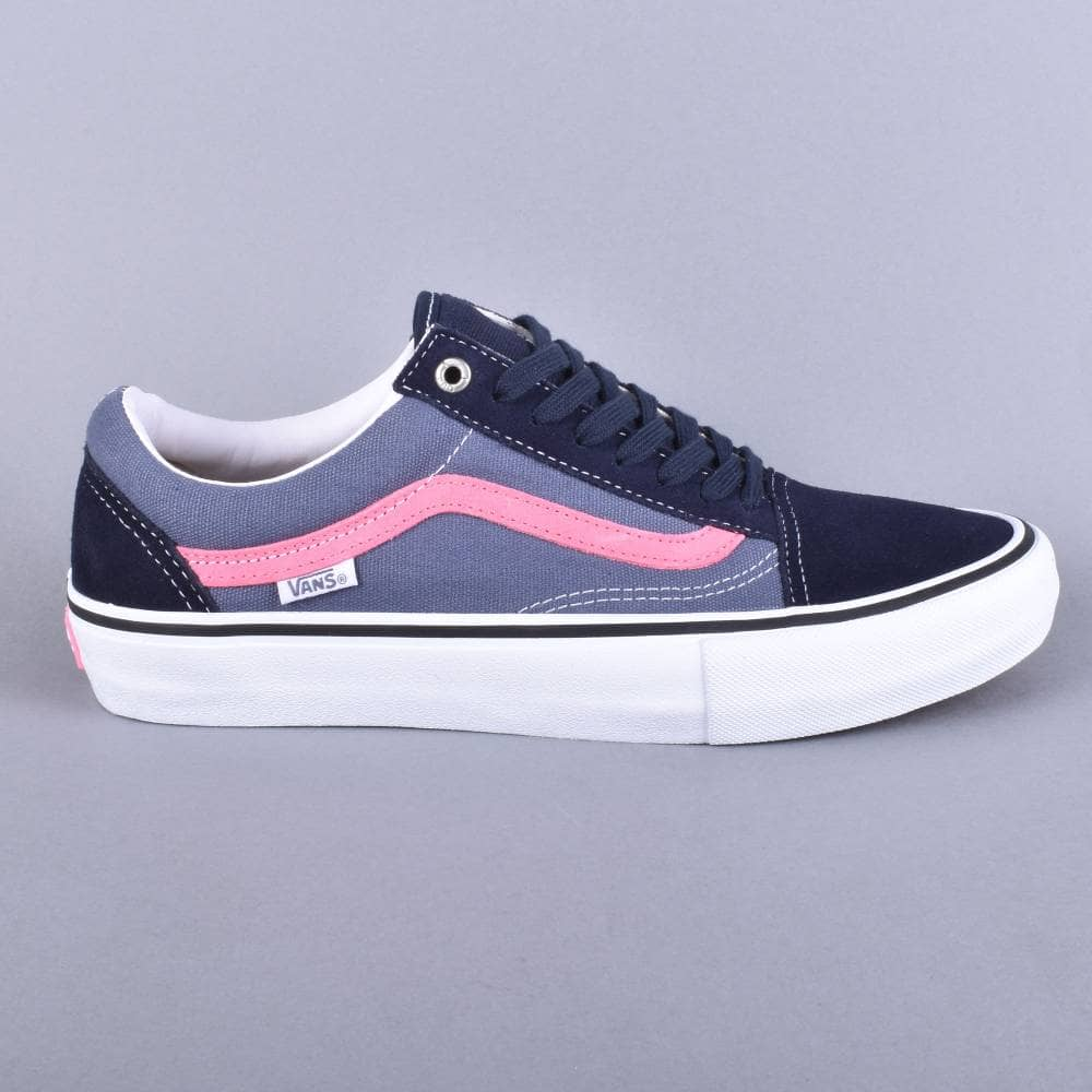 Vans Old Skool Pro Sky Captain Pink Shoes