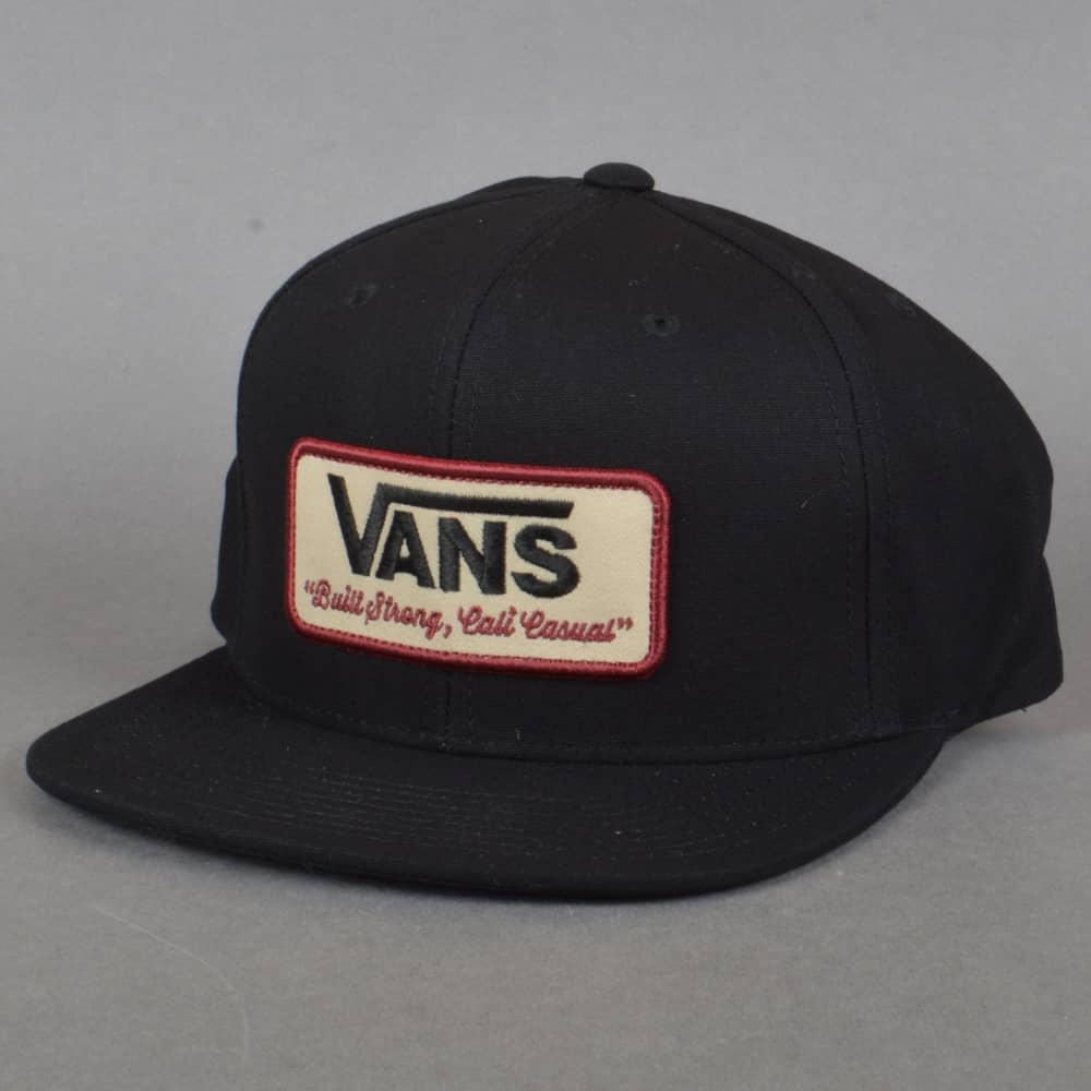 Vans Rowley Snapback Cap - Black - SKATE CLOTHING from Native Skate ... b3b6100b576