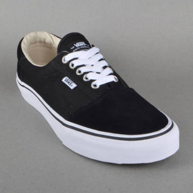 Rowley Solos Skate Shoes - Black/White