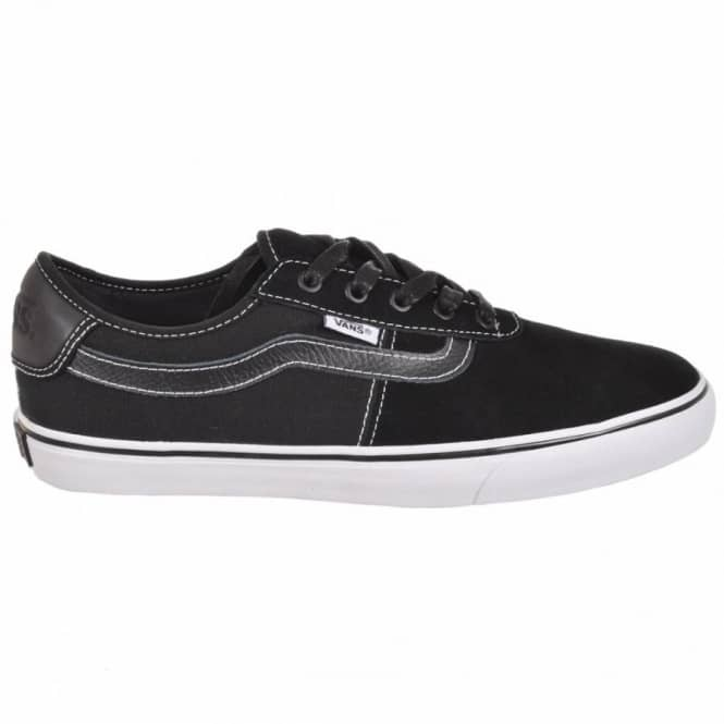41387483a3be5c Vans Rowley SPV Black White Skate Shoes - Mens Skate Shoes from ...