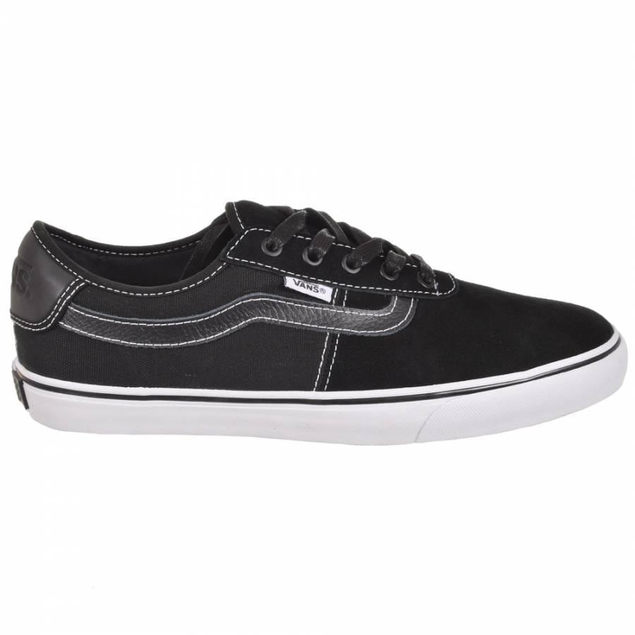 Mens Skate Shoes : Vans : Vans Rowley SPV Black/White Skate Shoes