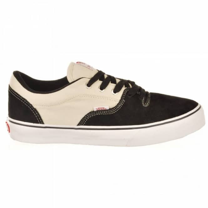 8cfcfbbf9a Vans Rowley Style 99 s Black White Two Tone Skate Shoes - Mens Skate ...