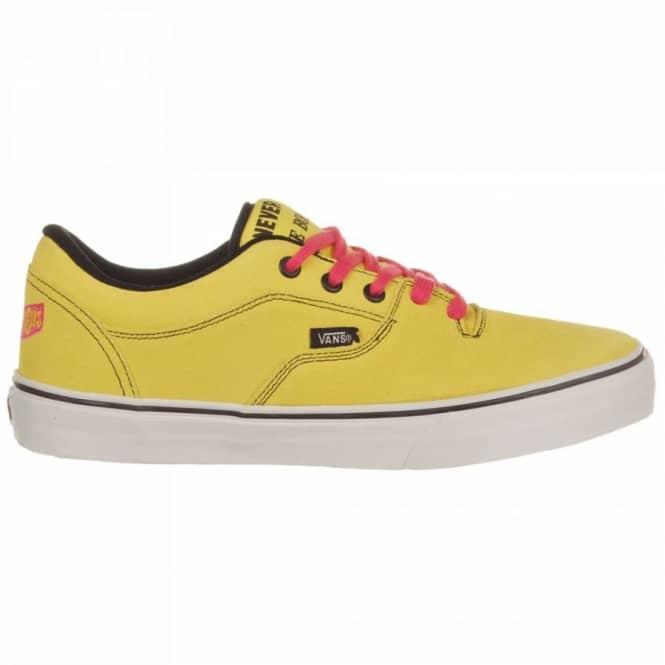 Sex Pistols/Yellow - Mens Skate Shoes