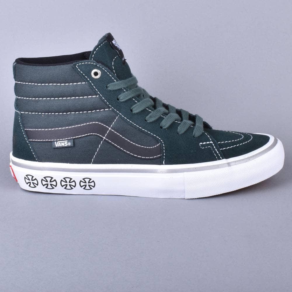 8b397b3904 Vans Sk8-Hi Pro Skate Shoes - (Independent) Spruce - SKATE SHOES ...