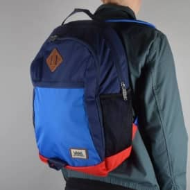 Vans Skooled Backpack - Classic Blue/Peacoat/Reinvent Red